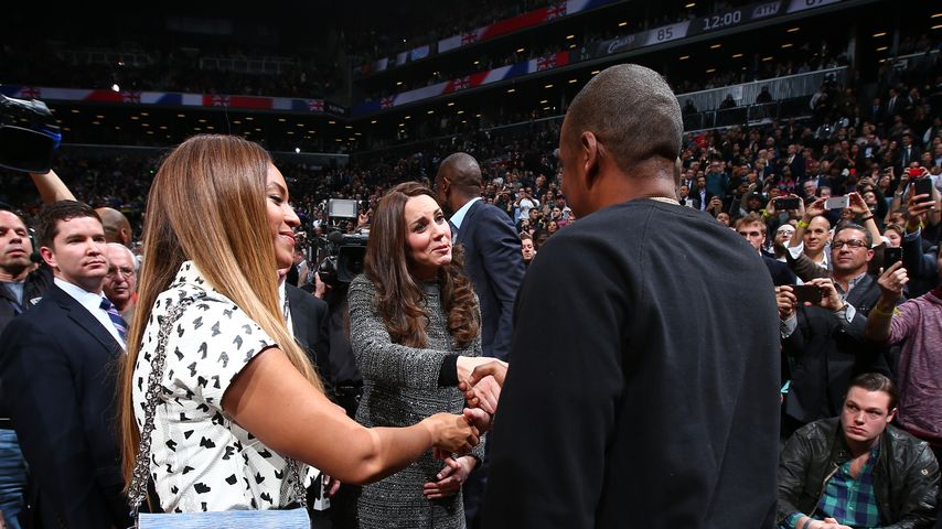 Genial! William & Kate treffen auf Queen B & Jay-Z