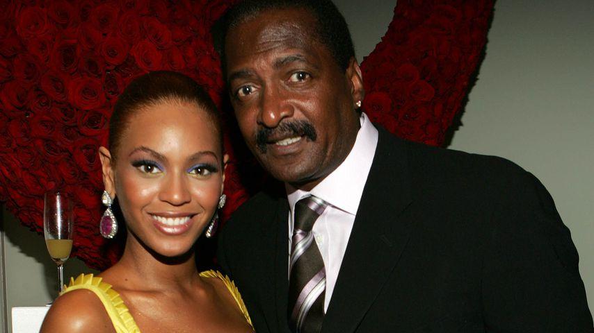 Beyoncé mit ihrem Vater Matthew Knowles