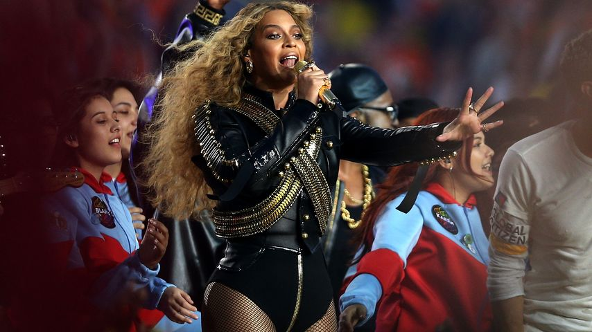 Beyoncé beim Super Bowl 2016