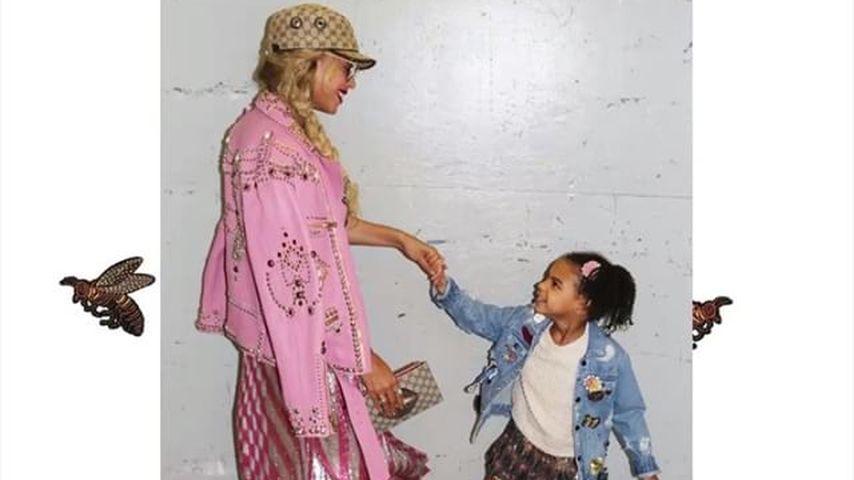 Fashionista wie die Mama! So süß posiert Beyoncés Blue Ivy