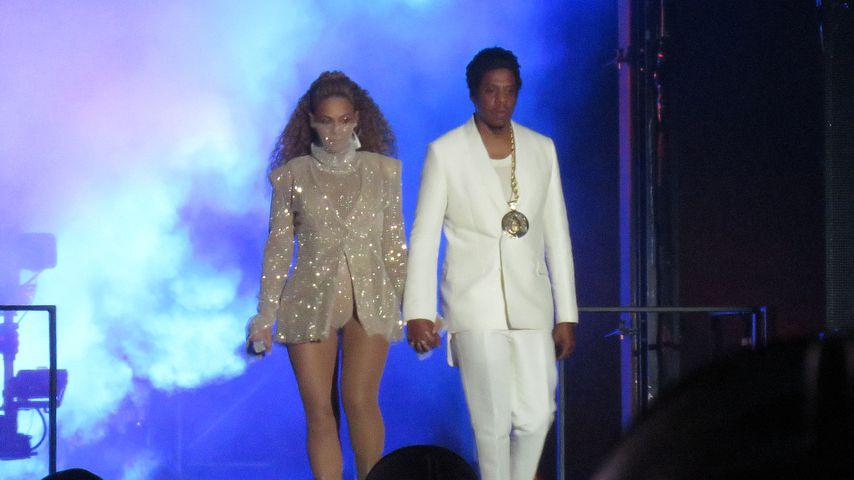 """Beyoncé und Jay-Z bei ihrer """"On The Run II""""-Tour"""