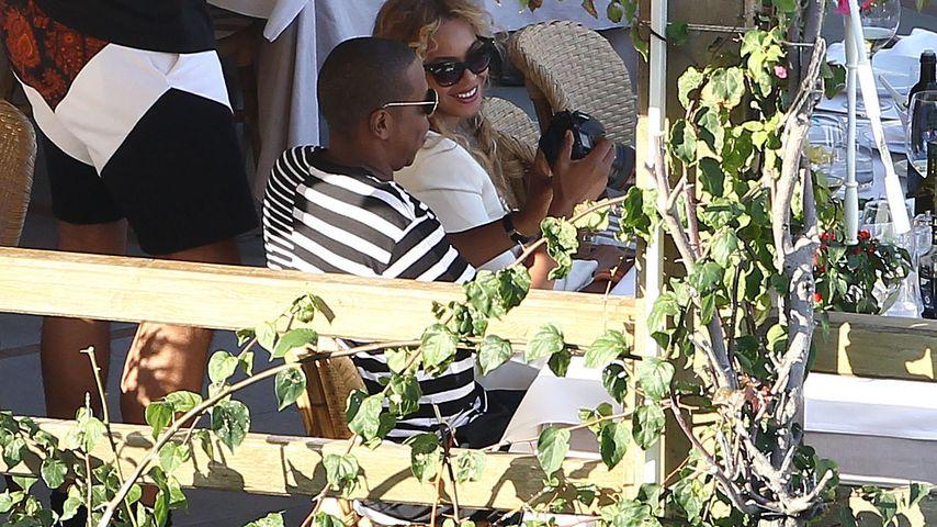 Doch keine Trennung? Hier vergnügen sich Jay-Z und Beyoncé