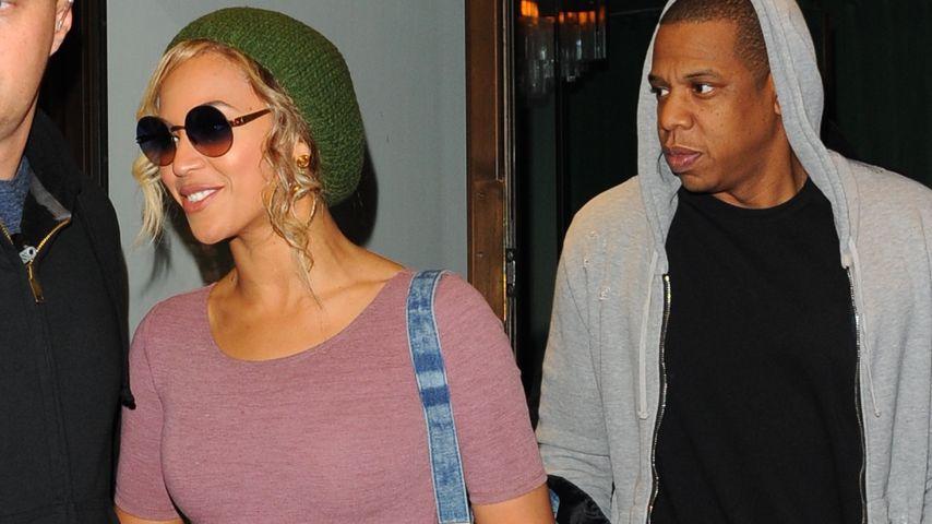 Krass! Beyoncé & Jay-Z schwänzen Kimyes Hochzeit