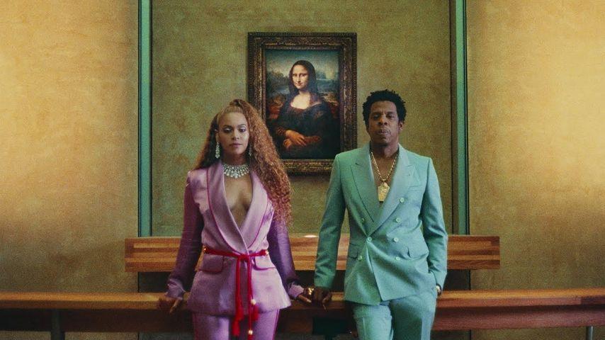 Louvre gemietet: Beyoncé & Jay-Z produzieren Mega-Musikvideo