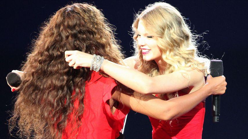 Beyoncé und Taylor Swift, 2009