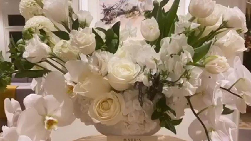 Beyoncés Blumengeschenk an Katy Perry