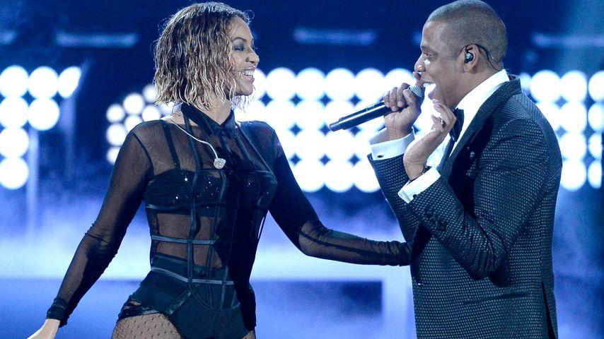 Beyoné und Jay-Z bei den Grammy Awards 2014
