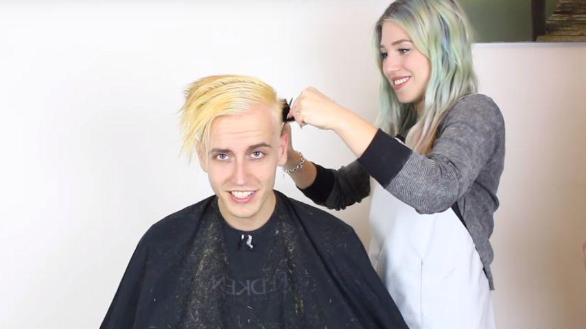 Grau-Trend: YouTube-Bibi verpasst ihrem Freund neuen Look