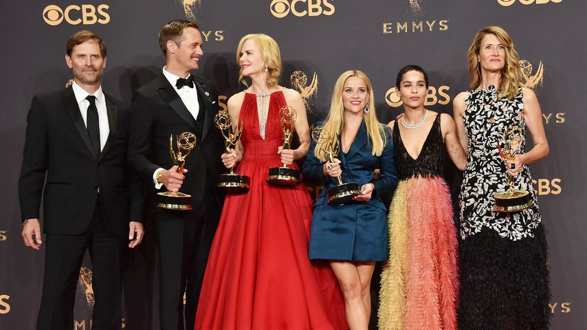 Jeffrey Nordling, Alexander Skarsgard, Nicole Kidman, Reese Witherspoon, Zoe Kravitz & Laura Dern