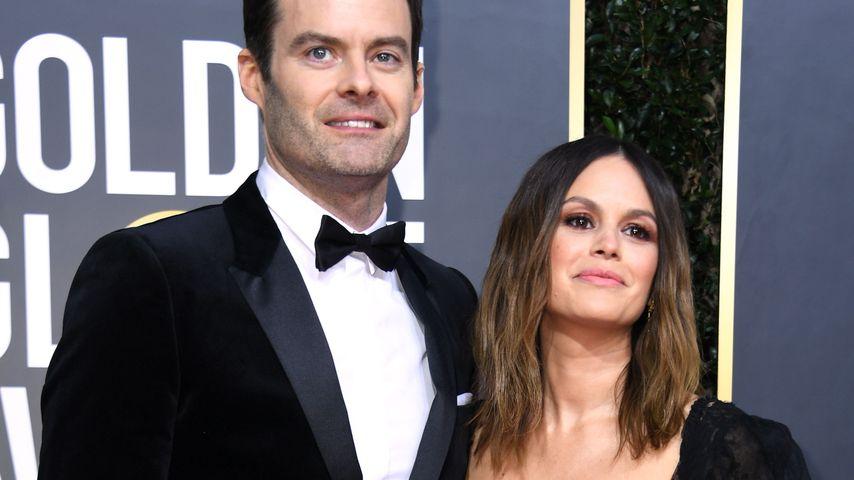 Bill Hader und Rachel Bilson bei den Golden Globes 2020