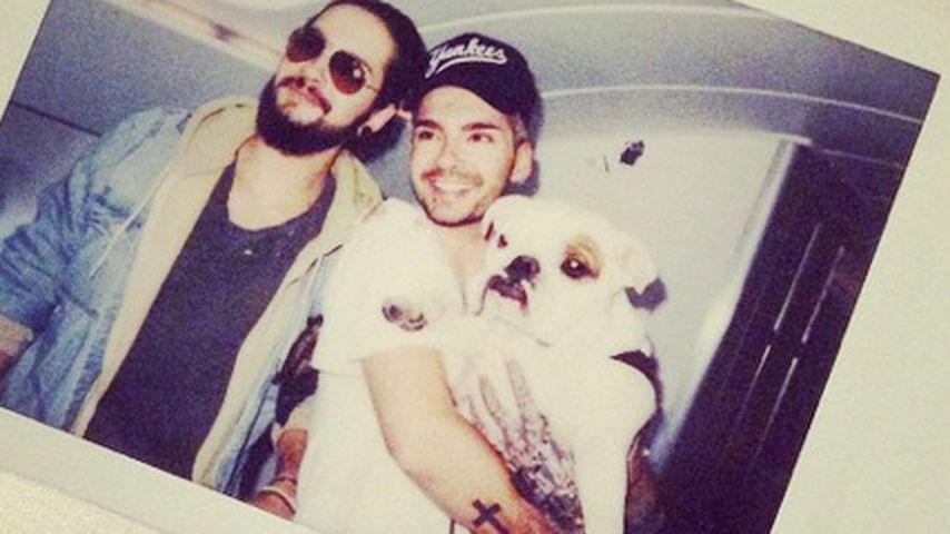 Endlich! Die Jungs von Tokio Hotel sind in Europa