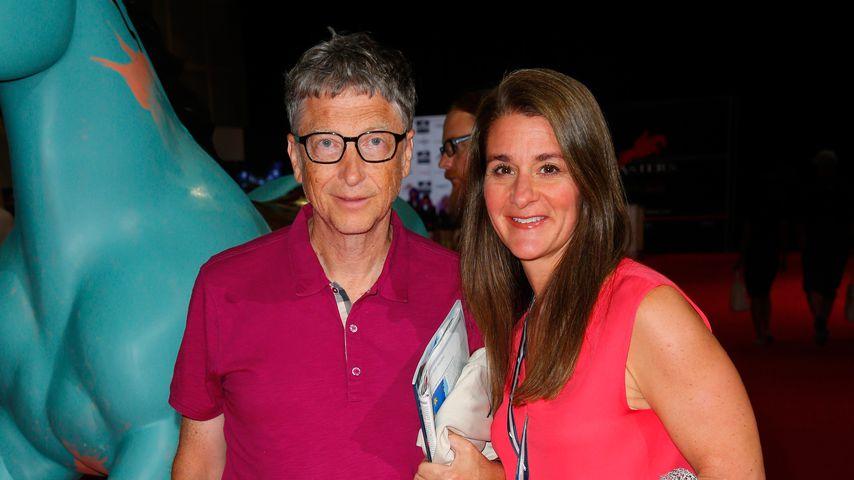 Bill Gates, Microsoft-Gründer, und seine Ehefrau Melinda