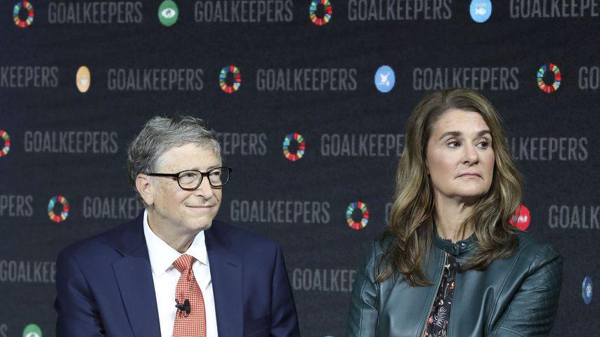 Bill und Melinda Gates im September 2018 in New York