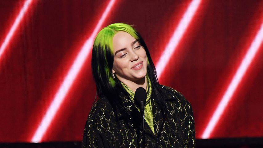 Billie Eilish bei den Grammys 2020
