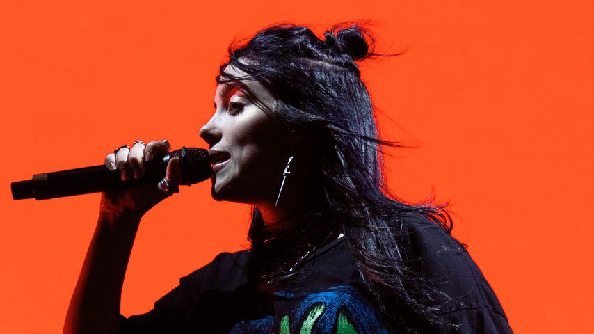 Billie Eilish auf dem Coachella Festival 2019