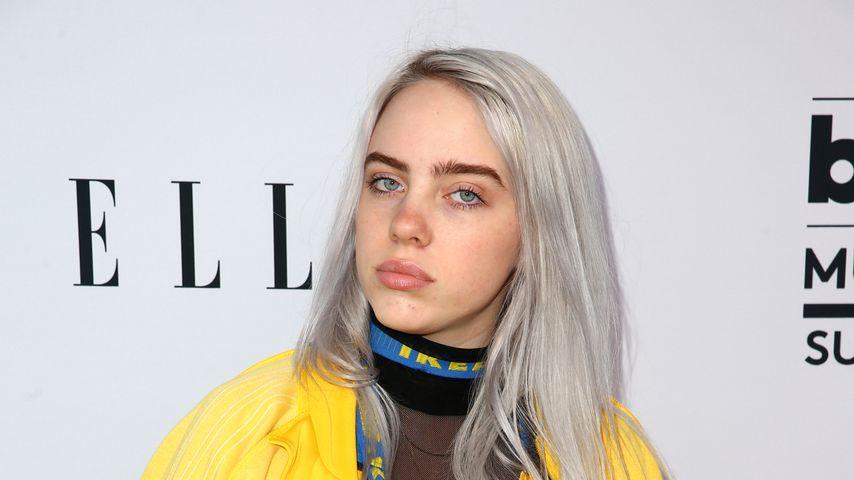 Billie Eilish im Mai 2017 in Los Angeles