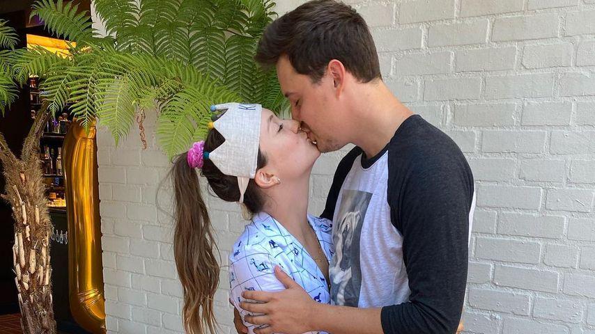 Billie Lourd und ihr Partner Austen Rydell