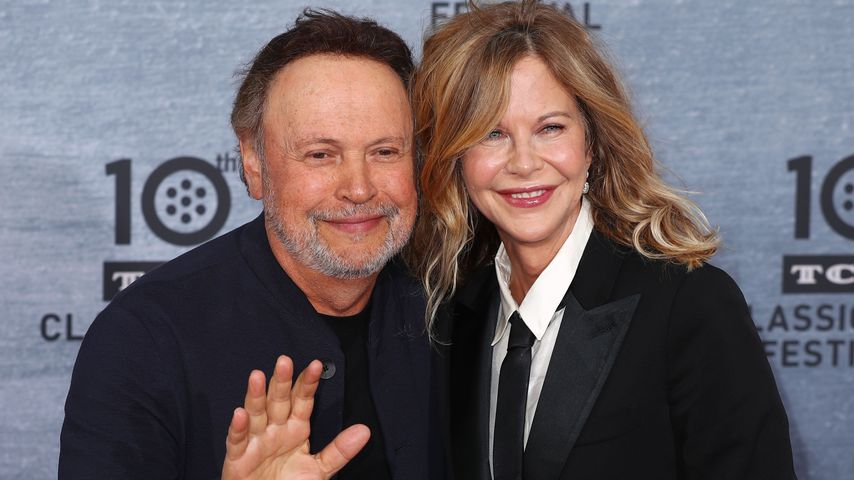 Billy Crystal und Meg Ryan in Hollywood, April 2019