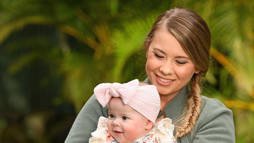 Überglücklich: Bindi Iriwn feiert ersten Geburtstag als Mama