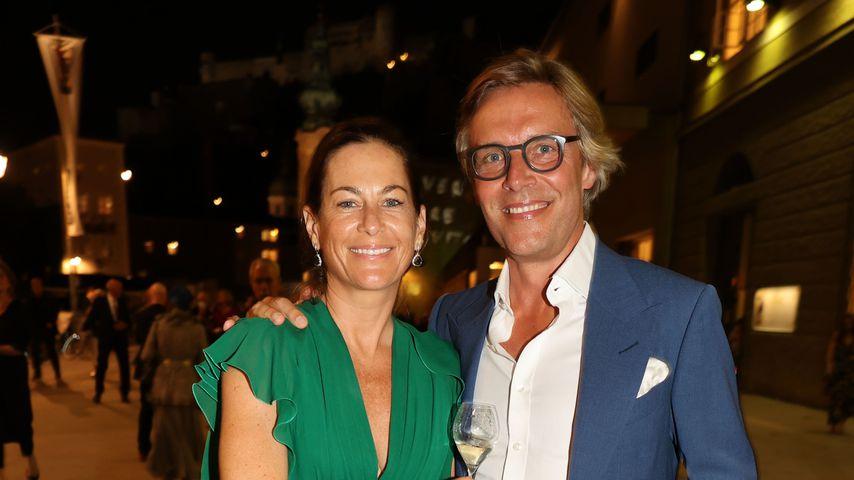 Birgit Lauda und Marcus Sieberer im August 2021