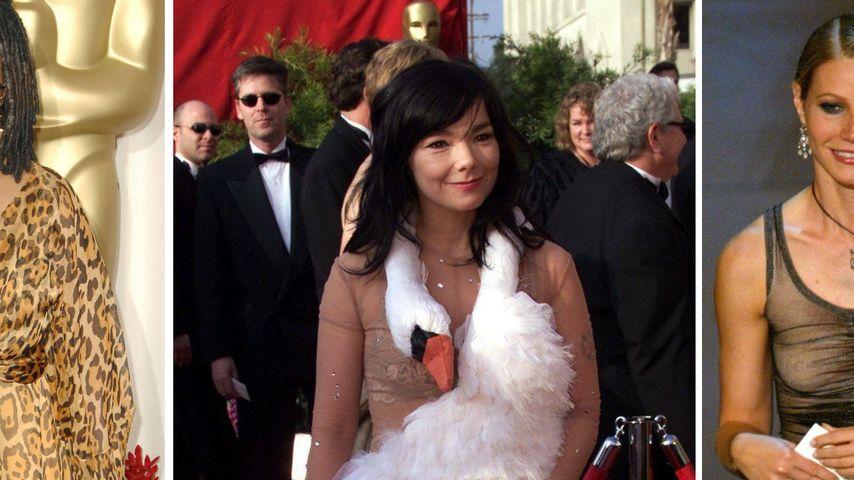 Rückblick: Das waren die schlimmsten Oscar-Outfits