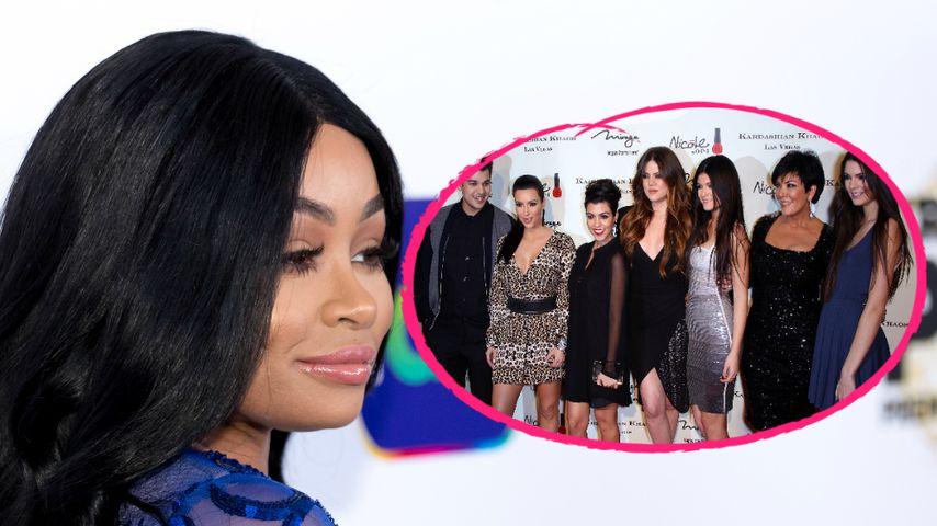 Blac Chyna klagt vorerst nur noch gegen 3 von 7 Kardashians!