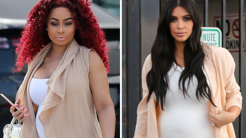Aufgepasst! Blac Chyna klaut Kim Kardashians Schwanger-Style