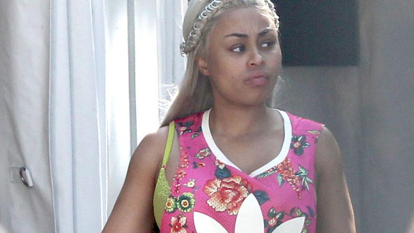 Nur noch weite Kleidung: Blac Chyna versteckt ihre Babykugel
