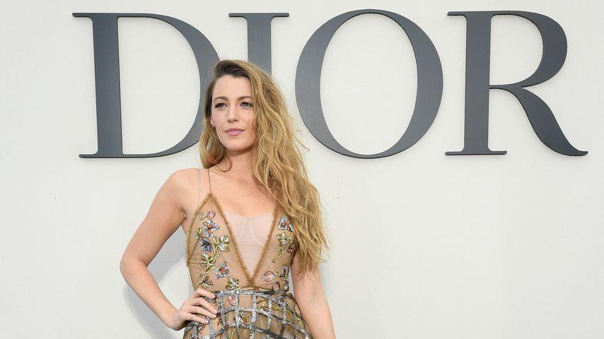 Blake Lively bei der Paris Fashion Week