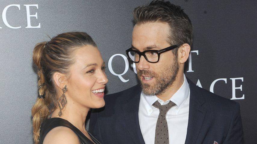 """Blake Lively und Ryan Reynolds bei der Premiere von """"A Quiet Place"""" in New York"""