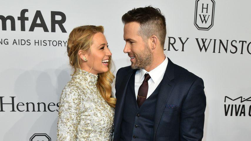Blake Lively und Ryan Reynolds im Februar 2016 bei der AmfAR-Gala in New York