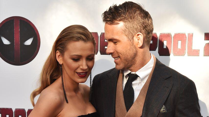 Blake Lively und Ryan Reynolds im Jahr 2018