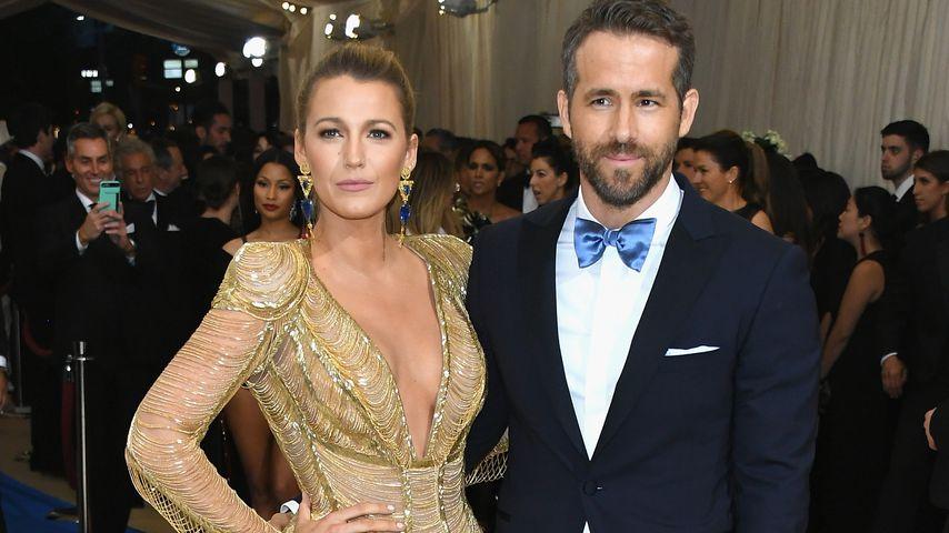 Blake Lively und Ryan Reynolds in New York City