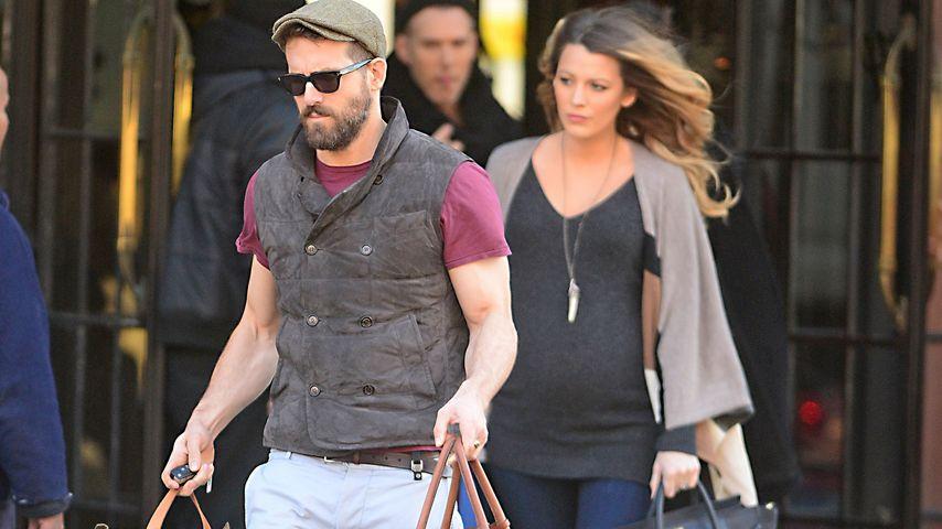 Ryan Reynolds & Blake: Diebe wollen Baby-Fotos verkaufen