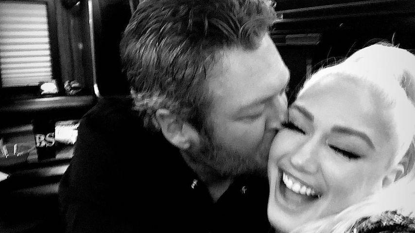 Gwen Stefani und ihr Schatz Blake im Couple-Foto-Himmel!