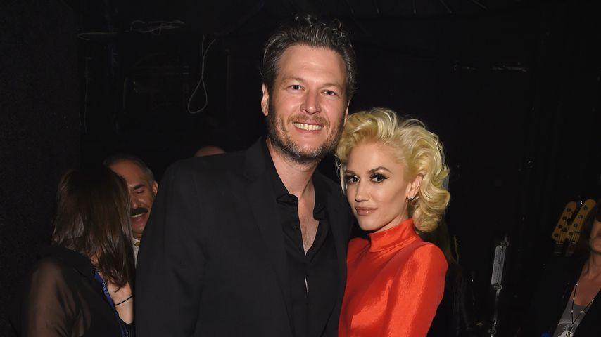 Blake Shelton und Gwen Stefani, 2016