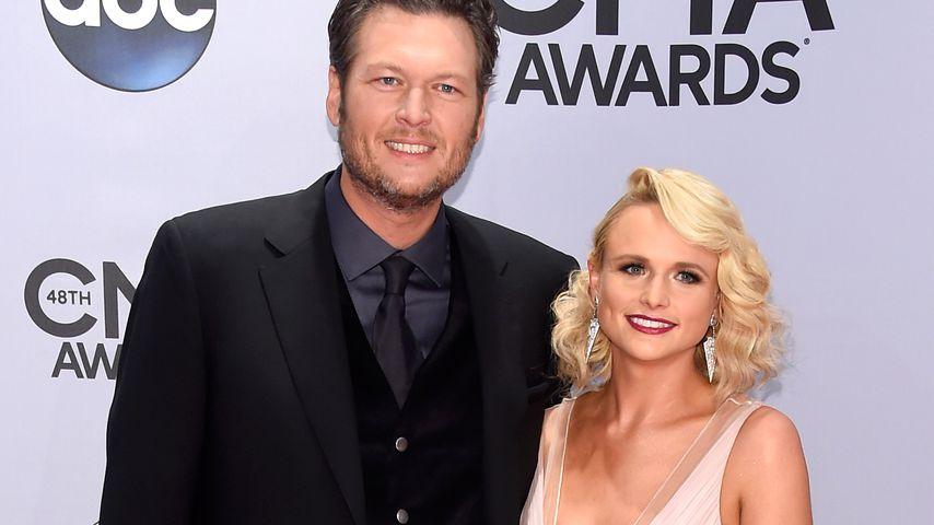 Blake Shelton und Miranda Lambert bei den 48. CMA Awards 2014 in Nashville
