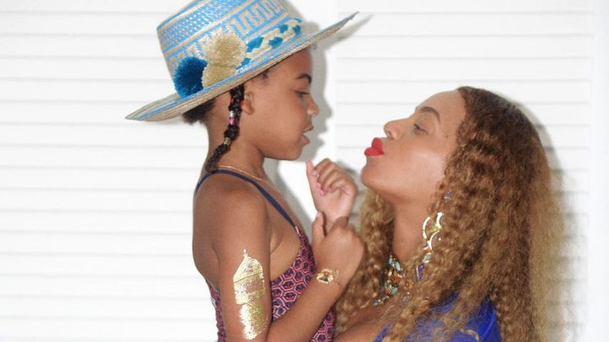 Blue Ivy Carter und Beyoncé