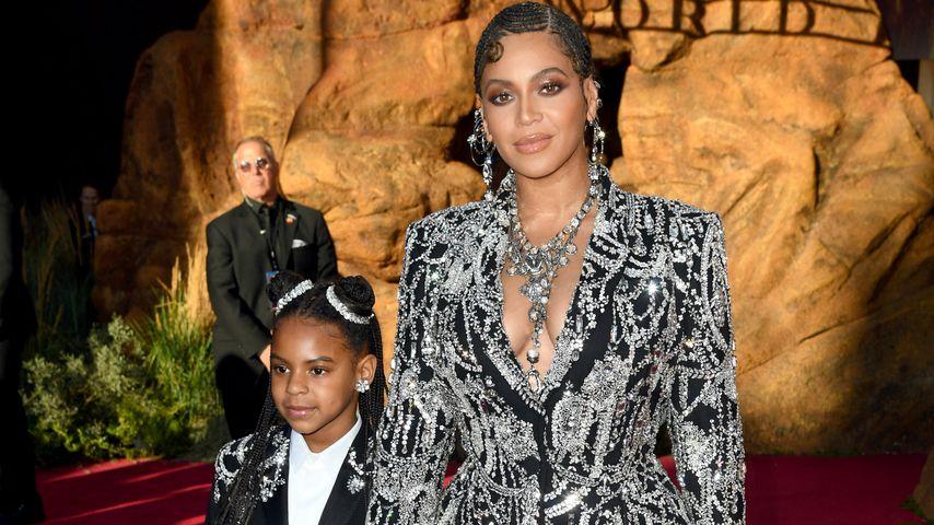 """Blue Ivy Carter und Beyoncé  bei der """"König der Löwen""""-Weltpremiere"""