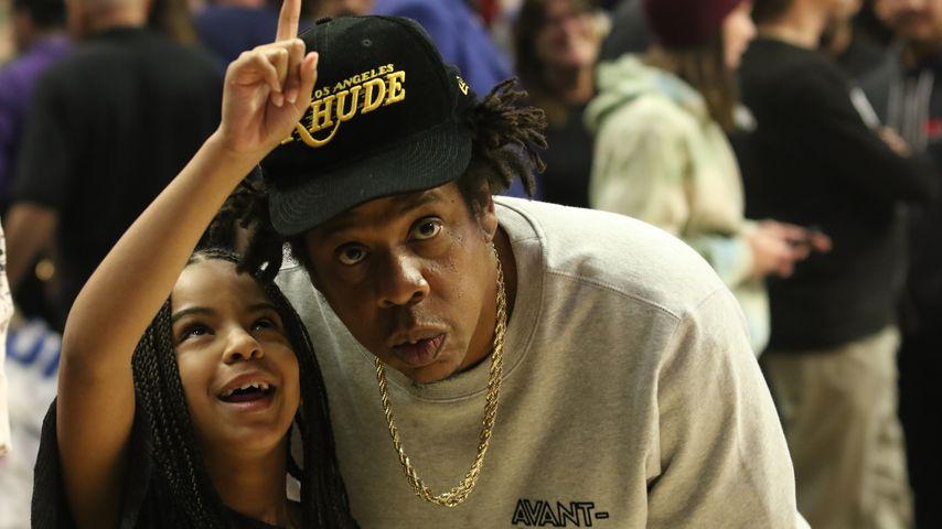 Happy Duo: Jay-Z und Blue Ivy genießen Papa-Tochter-Zeit