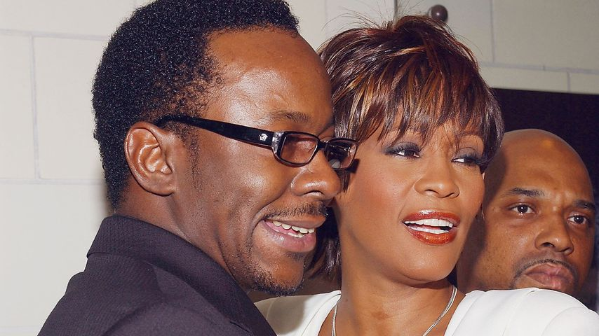 Bobby Brown und Whitney Houston im Juni 2004