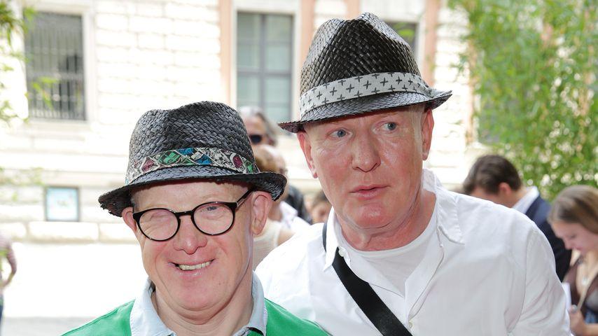 Bobby und Gerd Brederlow auf der Sommerparty des Filmfests München 2014