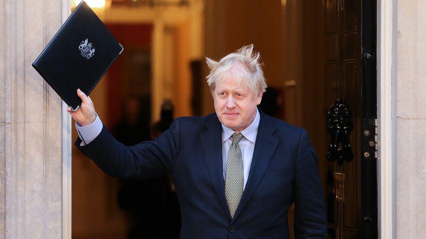 Boris Johnson im Dezember 2019
