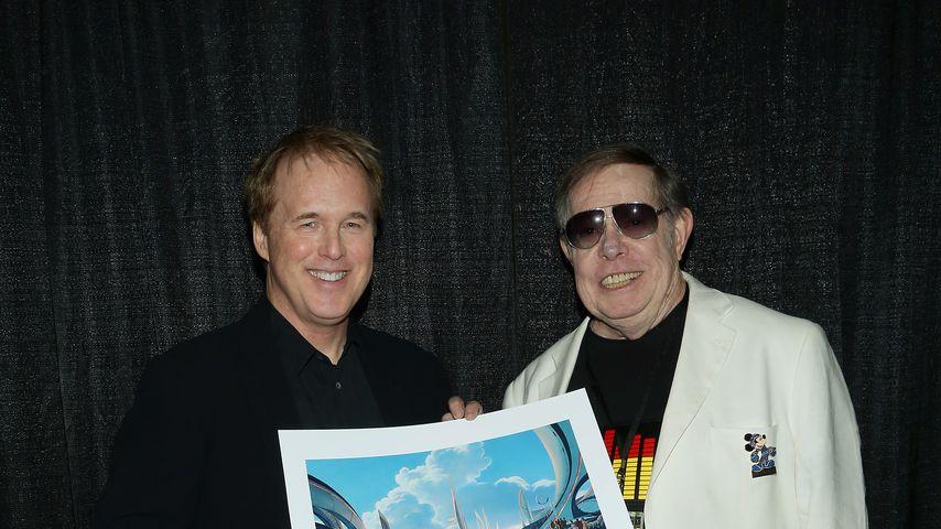 Brad Bird und Syd Mead im Oktober 2014