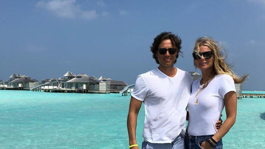 Brad Falchuk und Gwyneth Paltrow auf den Malediven
