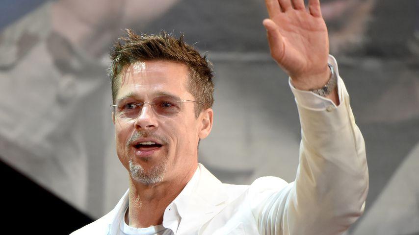 """Brad Pitt bei der """"War Machine""""-Premiere in Tokio im Mai 2017"""