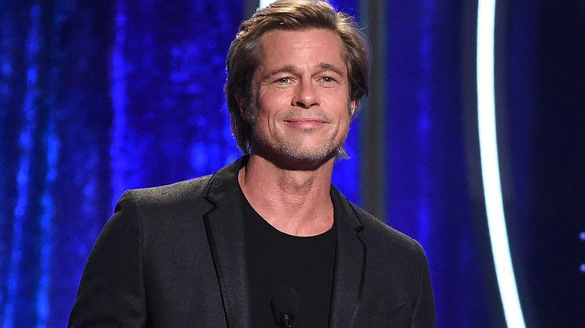 Brad Pitt bei einer Preisverleihung im November 2018