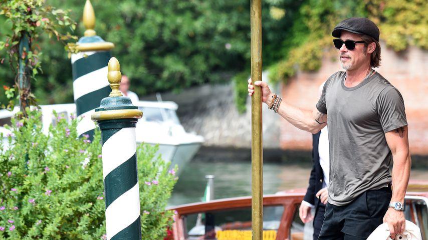 Brad Pitt in Venedig, August 2019