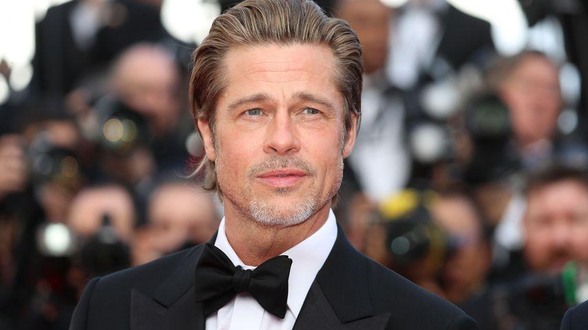 Brad Pitt bei den Cannes Filmfestspielen, in Cannes Mai 2019