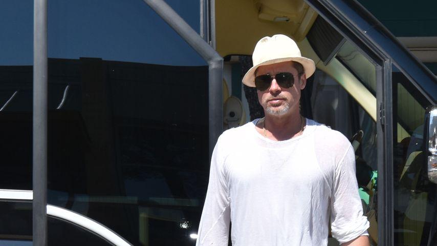 Brad Pitt in Kroatien